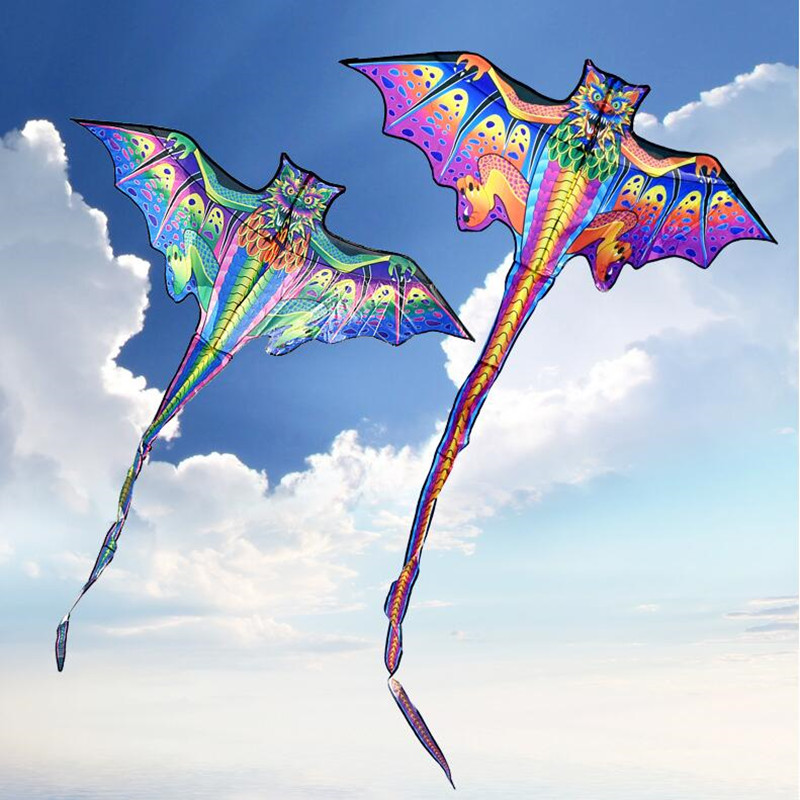 Free Shipping 3d Dragon Kite For Kids Kite Nylon Toys Fly Kites Children Kite Line Weifang Bird Kite Factory Ikite Eagle
