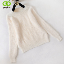 High quality Cashmere Sweater Pullover O-neck Women Sweater Long Sleeve Casual Loose Sweater Knitted Tops Women's Basic Sweater womens casual o neck sweater knitted loose long sleeve tops slim fit pullover
