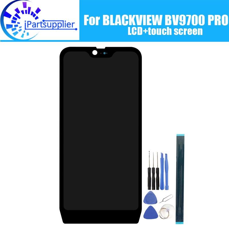 BLACKVIEW BV9700 PRO écran LCD + écran tactile 100% Original testé LCD numériseur panneau de verre remplacement pour BV9700 PRO