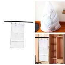 Ванная комната Душ продукты сетка сумка для хранения Настенный 6 Карман Вешалка Высокое качество практичный твердый и прочный изысканный ремесло