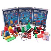 New Funny Junior Magic Set for Kids Magic Tricks Toys for Children Magia Puzzle Kit toys for children boys Magic Performing Prop
