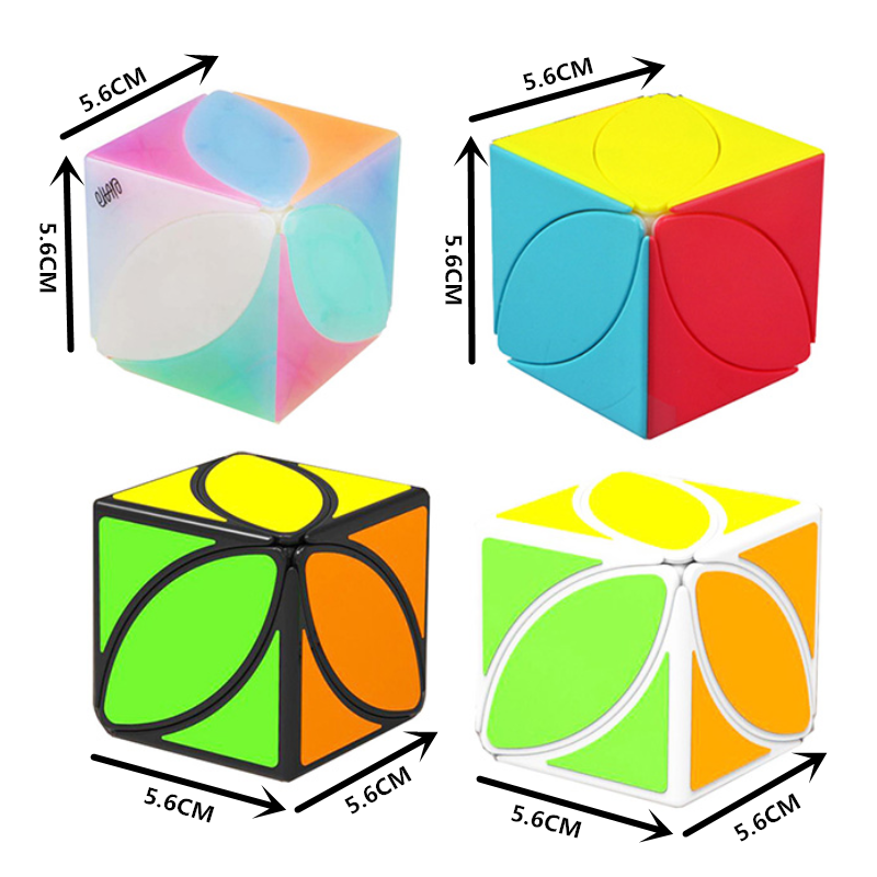 Mofangge Ivy Cube The First Twist Cube Of Leaf Line Puzzle Magic Cube Educational Toys Cubo Magico
