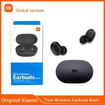 Globalna wersja Xiaomi Airdots Redmi Airdots 2 TWS Mi prawdziwy bezprzewodowy zestaw słuchawkowy Bluetooth Stereo Bass automatyczne łącze podwójny mikrofon tanie i dobre opinie Tłok douszne Dynamiczny CN (pochodzenie) Prawdziwie bezprzewodowe 120dB Słuchawki do monitora Do gier wideo Zwykłe słuchawki