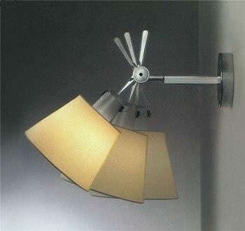 Современный настенный светильник для гостиной минималистичный регулируемый настенный светильник для ванной спальни светодиодный настенн...