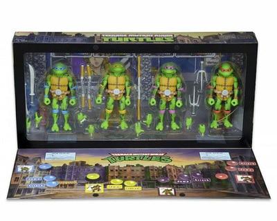 NECA Leonardo Donatello Michelangelo Raphael PVC Action Figure Toy