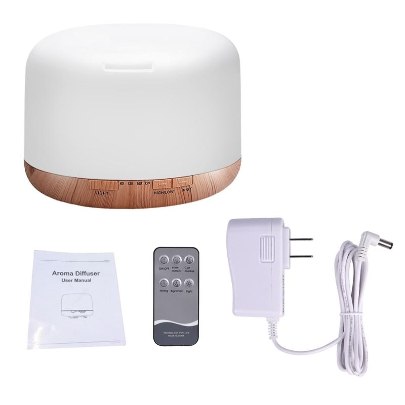 Air Humidifier Essential oil diffuser 300ML 500ML Ultrasonic Cool Mist Maker Fogger Humidifier LED Lamp Aroma Diffuser Electric Uncategorized cb5feb1b7314637725a2e7: 300ML 300ML 500ML 500ML
