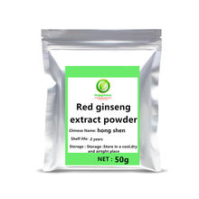 Hot sale 10 Years Korean Red Ginseng Root Extract Ginsenosides Powder festival supplement body anti-aging ginseng tea capsules.