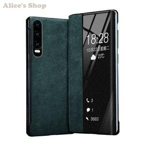 Image 1 - Cao cấp Chính Hãng Bền Da Chính Hãng Huawei P30/ Pro Thời Trang Hiển Thị View Thông Minh Dùng Cho Huawei p30 Pro