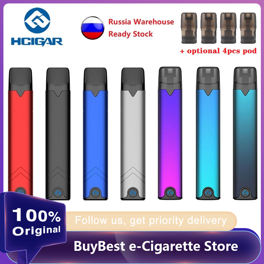 Original Hcigar Akso OS Pod Vape Kit 420mAh Battery w/ buckle locking system & 1.4ml pod System vs MINIFIT/ Drag nano/ zero Kit