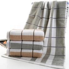 Face-Towel Bath Spa Hand Kitchen-Hair Hotel Adults Kids Beach 100%Cotton Thick Plaid
