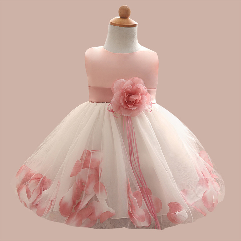 Flower     Girl     Dress   Wedding Princess Tulle Birthday Party Baby   Dresses   For   Girl   Ceremonies Lace Kids   Dresses     Girl   Children Clothes