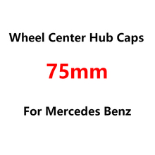 Wheel-Center-Hub-Cap-Cover W213 Mercedes-Benz 4pcs W124 Car-Logo 75mm for W205 W204 W203