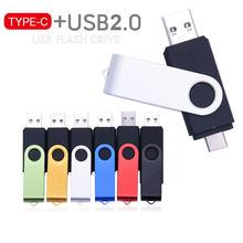 Unidad Flash USB OTG multifuncional 2 en 1 tipo c, Pen Drive de 64 GB, 8/16/32/64 GB, Pen Drive para boda