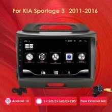 2G+32G Android 10 Car Radio for Kia sportage 2011-2016 car dvd player car accessory 4G