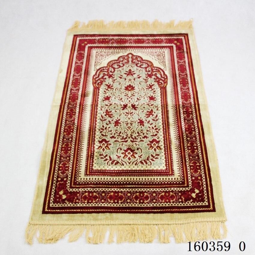 Prayer Mat Muslim 70*110cm Cashmere-like Thicken Blanket MashaAllah Banheiro Floor Rug Carpet Namaz Islamic Praying Mats