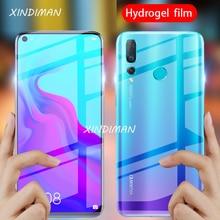 25D Front+Back hydrogel film for huawei nova5 5i Soft tempered glass screen protector nova3 3i 3e nova4 4e nova5pro