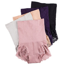 Seamless Women Shapers High Waist Slimming Tummy Control Knickers Pants Pantie Briefs Body Shapewear Lady Corset Underwear ssy11(China)