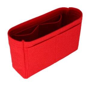 Image 5 - Se adapta a Neo noe, bolsas de inserción, organizador de maquillaje, organizador abierto, monedero interior de viaje, moldeador de base de cosméticos portátil para neo noe