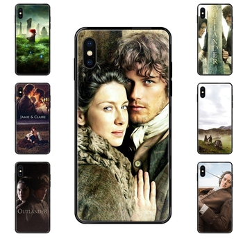 Gift Outlander Tv Hot Jamie Fraser Good-looking Black Soft Top Detailed Popular Case For Huawei P40 P30 P20 P10 P9 P8 Lite Plus image
