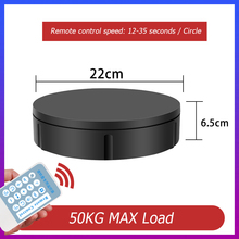 Display-Stand Rotating-Turntable Remote-Control-Speed 22cm 3D for 360-Degree Scan Photography