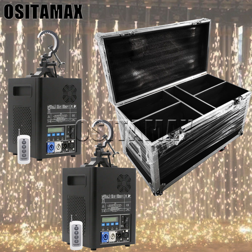 Upside down 400W Sparklers Waterfall Fireworks Pyrotechnics Remote Dmx Control Cold Fire Machine Spark for fixed stage lighting|Stage Lighting Effect| |  - title=