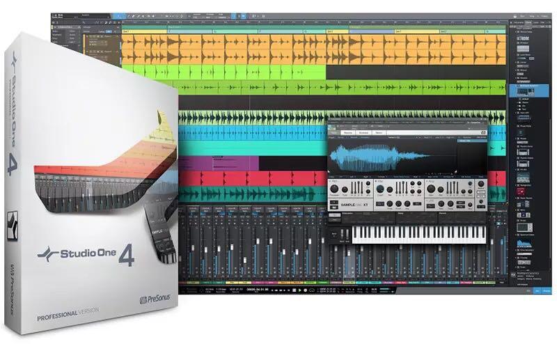 PreSonus Studio One Pro 4.6.0.55605 WIN