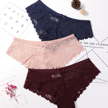 Panties Women Underwear Briefs Lingerie Intimates Sexy Lace Low-Waist Fashion High-Quality