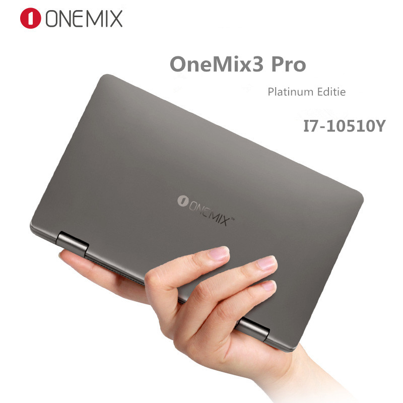 One Netbook One Mix3 Pro Platinum Editie Yoga Pocket Laptop Intel Core I7-10510Y Dual-Core 8.4