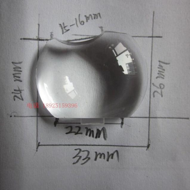סיטונאי Optoma ES521 ES526 HD20 TS721 DT343 DM161 S2005 EX538 מקרן עדשת פלסטיק זכוכית אופטית עדשה קמורה מראה