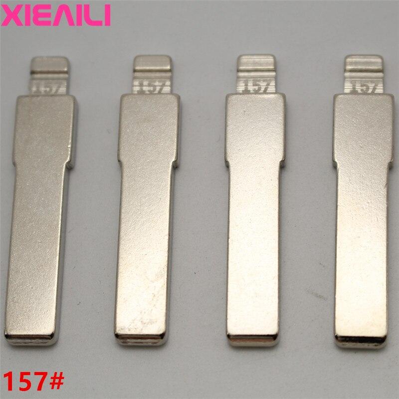 XIEAILI 20 шт./лот для 157 # металлическая заготовка, необработанный откидной ключ KD для Fiat SIP22 Blade S521