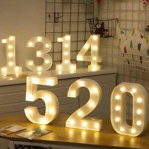 Led letter Lights Number Light