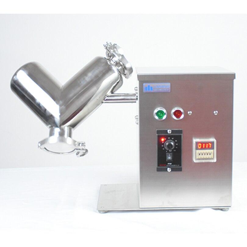 Mixer laboratorio Mixer macchina VH2 macchina di miscelazione VH mini Mixer polvere scrivania tipo miscelatore