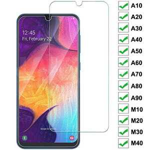 Закаленное стекло с полным покрытием для Samsung Galaxy A10 A20 A30 A40 A50 A60 A70 A80 A90 M10 M20 M30 M40, Защитная пленка для экрана