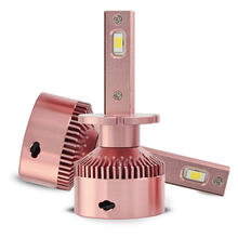 D2H Car Lights Bulbs LED 2Pcs Headllight Kit Bulb Canbus Combo SMD 48W 3200LM 6000K Ultra Bright Waterproof Automobile Fog Light