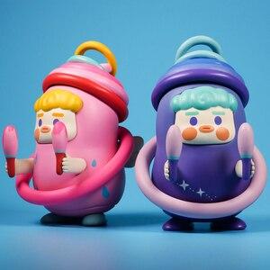 Image 3 - קווארק עיוור תיבת Planet סוכר מלא קרקס סדרת צעצוע מתנה חמוד מתנת קישוטי שולחן העבודה