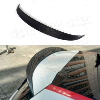 Carbon Fiber / FRP Rear Spoiler Body Roof Wings for Volkswagen VW Scirocco Base R 2009-2013 GTS 2013 2014 Car Styling
