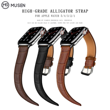 for Apple Watch Band 44mm 40mm Apple Watch Leather Belt Smart Watch Strap 4 5 42mm 38mm iwatch 3/2/1 Replacement Bracelet charge for apple watch stand apple watch 5 4 3 2 1 iwatch 42mm 38mm 44mm 40mm smart watch accessories station holder black white