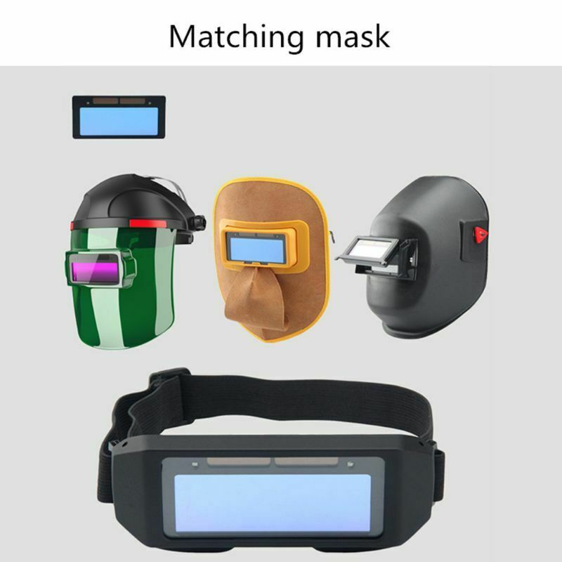 Solar Automatic Darken Welding Helmet Eyes Protector Welder Cap Goggles Solder Mask Repair Replacement Lens