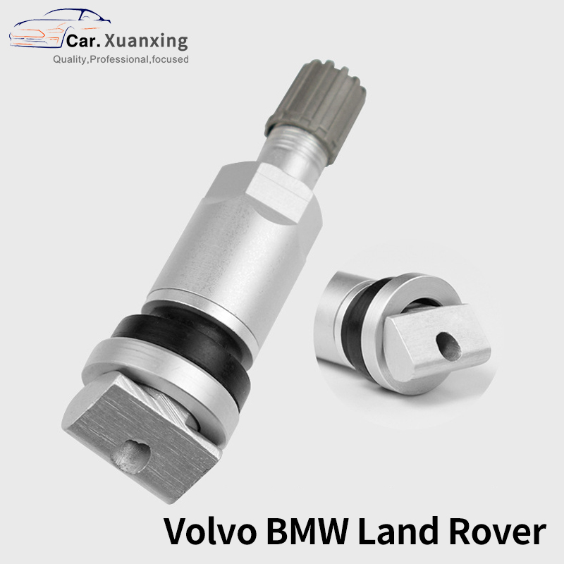 TPMS Tire Valves For Volvo BMW Land Rover Aluminum Alloy Car Valve Stem Tire Sensor Kit Tire Pressure Sensor Valves Replacement