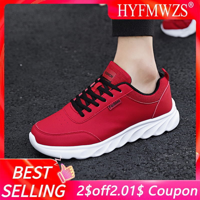 HYFMWZS High Quality Fashion 2019 Running <font><b>Shoes</b></font> For Men Non-slip Sneakers Men Soft And Breathable Sport <font><b>Shoes</b></font> Zapatillas Hombre image