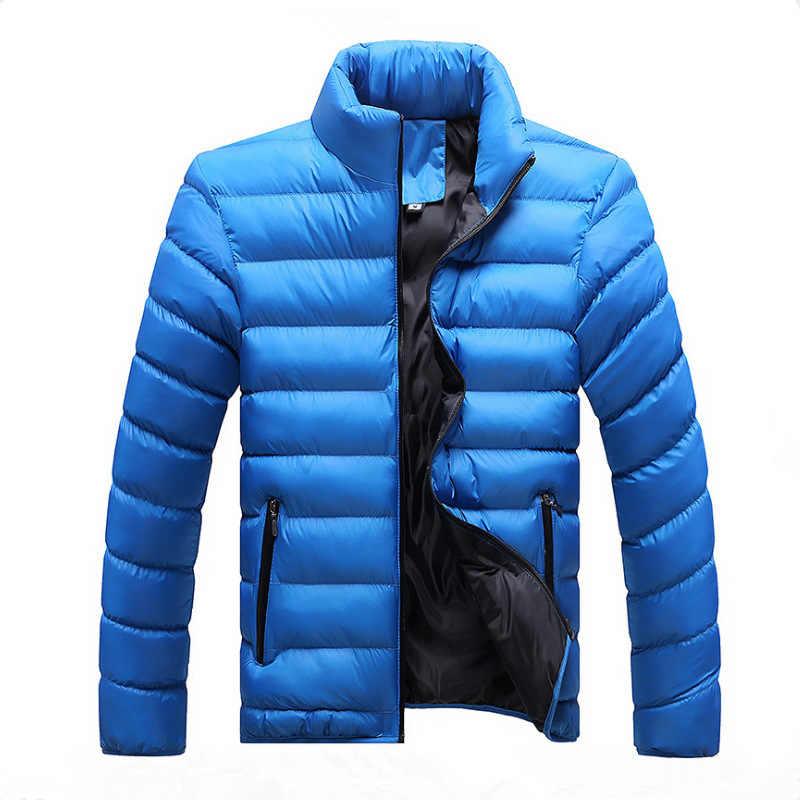 GEJIAN 冬男性ジャケット 2019 ブランドカジュアルメンズジャケットコート厚いパーカー男性生き抜く M-4XL ジャケット男性服やつ