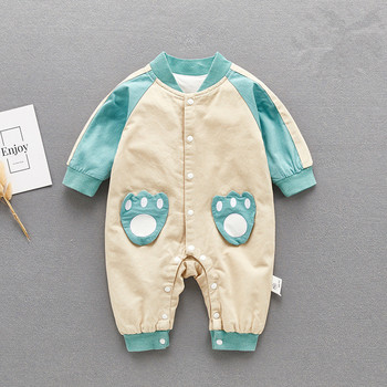 Baby Boys Rompers Autumn Fashion Newborn Romper Cartoon Infant Jumpsuit Baby Boy Clothes for 0-12M Kids Outerwear Costume