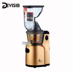 Image 1 - DEVISIBคั้นน้ำผลไม้ช้าMasticating Juicer Extractor,เย็นกดเครื่องคั้นน้ำผลไม้,มอเตอร์เงียบและฟังก์ชั่นย้อนกลับ