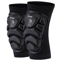 1Pair Compression Knee Support Sleeve Protector Elastic Knee Pads Brace Springs Gym Sports Basketball Volleyball Running Skating