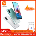 Xiaomi Redmi Note 10 Global Version 4GB/64GB Xiaomi SmartPhone Snapdragon 678 5000mAh 33W AMOLED Display 48MP Quad Camer