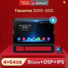 Junsun 2 + 32GB Android 10.0 DSPสำหรับTOYOTA TACOMA/HILUX 2005 2013ซ้ายมือรถวิทยุเครื่องเล่นวิดีโอมัลติมีเดียGPS RDS 2 Din Dvd
