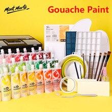 Gouache Paint Supplement Pack 56 Colors 100ml Art Supplies Art Tools Children's Hand-painted Creation Gouache Paint Set