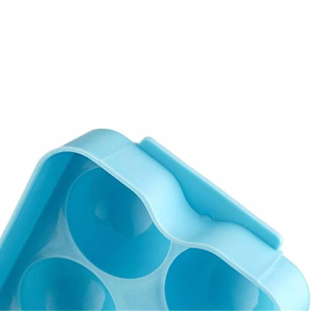 14 구멍 둥근 공 아이스 금형 플라스틱 트레이 아이스 하키 그리드 커버 색상으로 상자 금형 만들기 무작위 아이스 금형