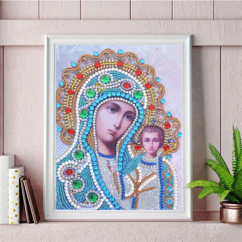 Купить с кэшбэком 5D Religion Characters Special Diamond Painting Embroidery DIY Needlework Craft