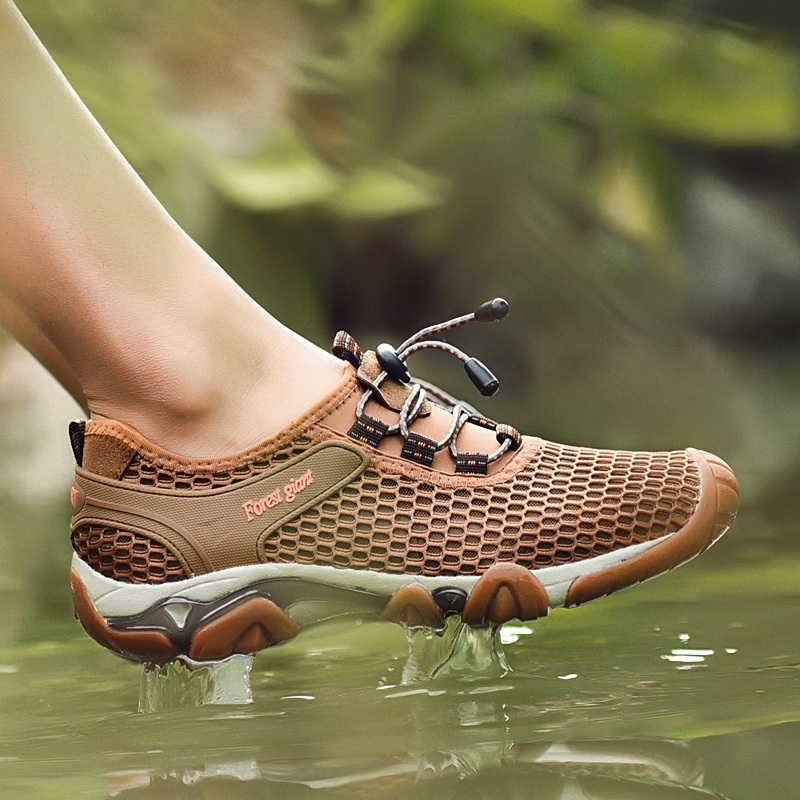 Sommer Leichte Outdoor Wandern Sandalen Männer Trekking Trail Wasser Sport Turnschuhe Upstream Schuhe Waten Klettern Schuhe